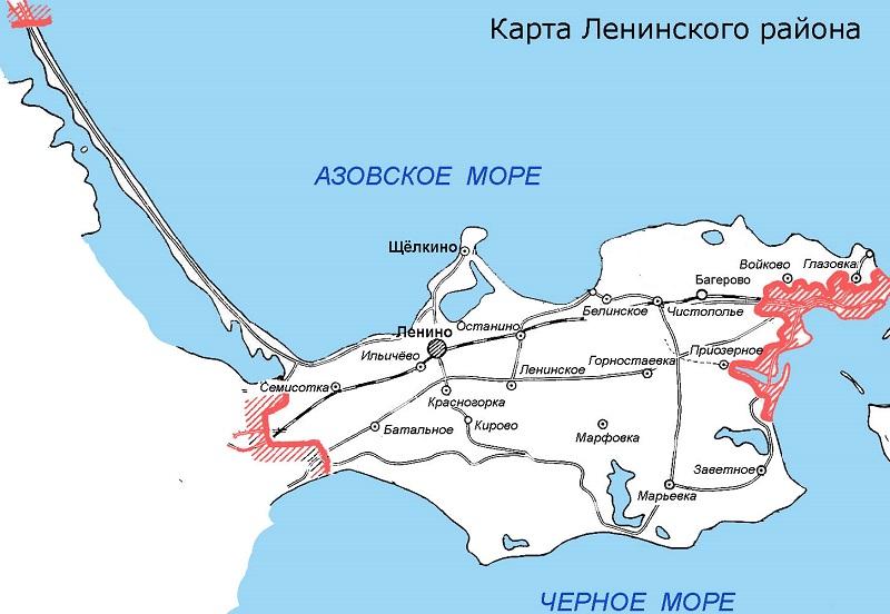 Ленинский район Крыма погода и климат