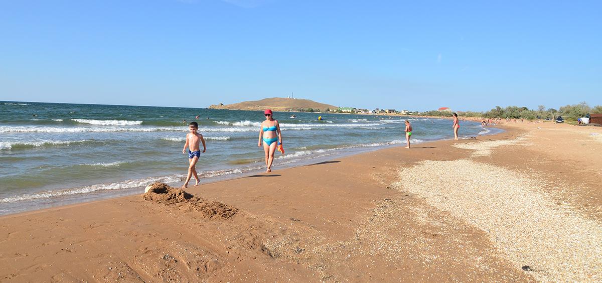 Бюджетный отдых на Азовском море в Крыму