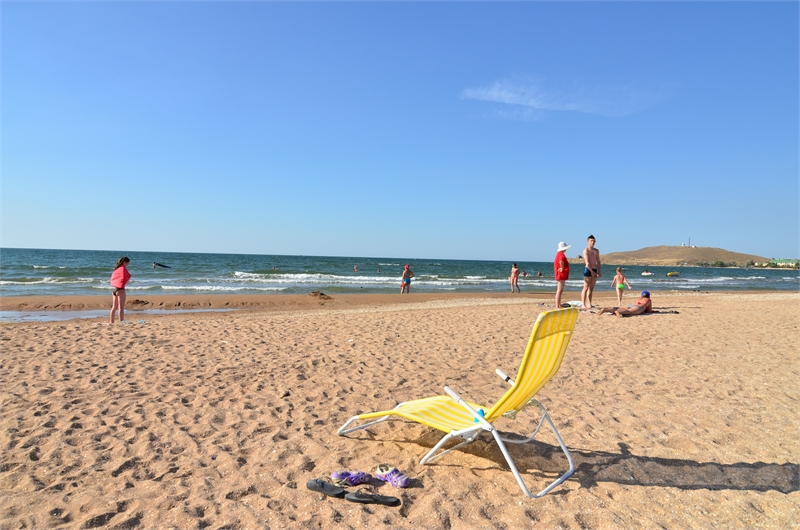 Пляж в Курортном Керчь фото