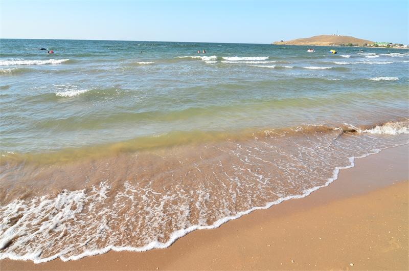 Какой пляж в Курортном на Азовском море фото