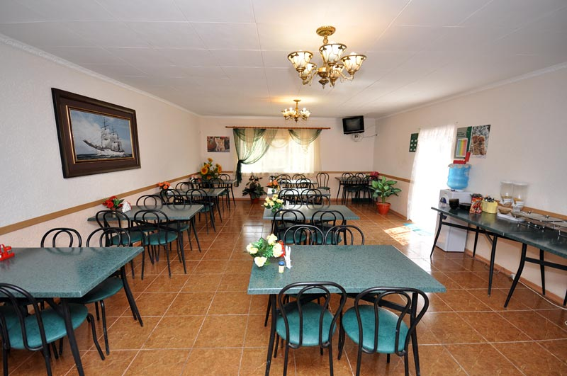 Гостевой дом Лагуна (Крым) – столовая